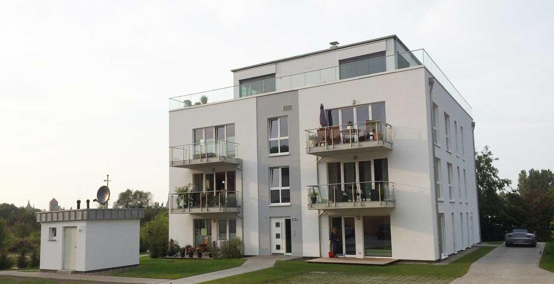 Mehrfamilienhaus rostock neubau br uer architekten for Mehrfamilienhaus neubau