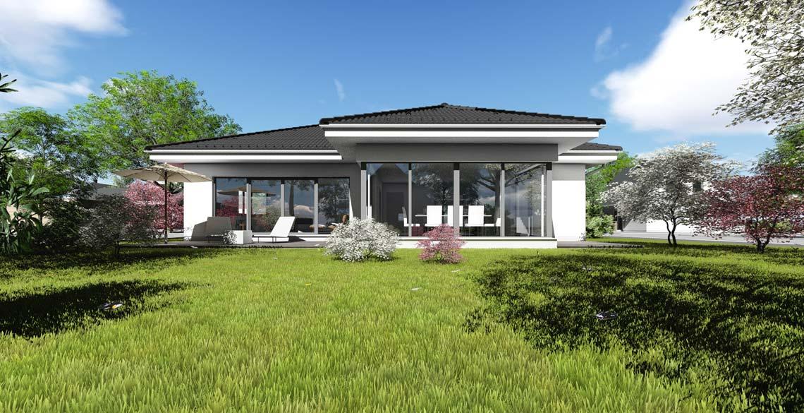 Visualisierung  Bungalow Typ IV - Bräuer  Architekten ...